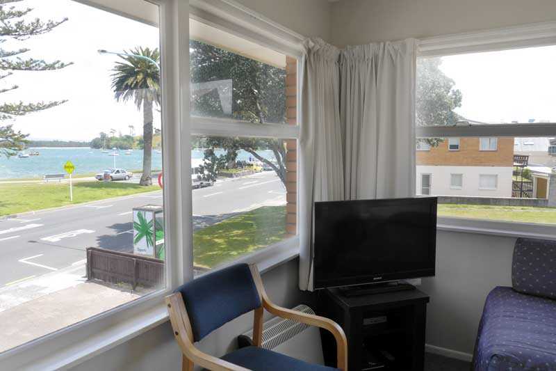 Harbour view from Unit 2 at Westhaven Motel